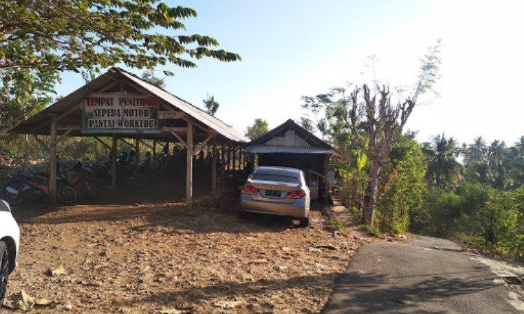 Fasilitas di Pantai Wohkudu