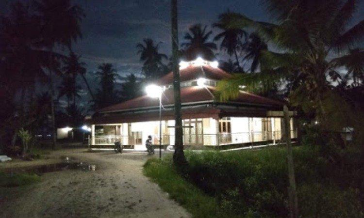 Fasilitas di Pantai Pandan Sibolga